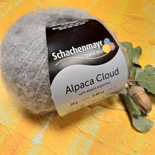 Пряжа Alpaca Cloud 00055(серый)